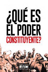¿Qué es el poder constituyente?
