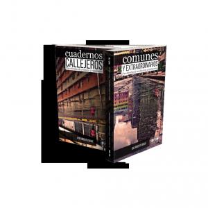 Cuadernos callejeros y Comunes y extraordinarios (libro bifronte)