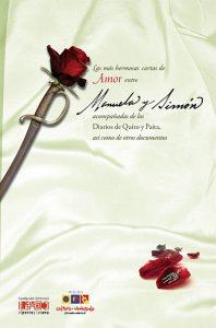 Las más hermosas cartas de amor entre Manuela y Simón acompañadas de los Diarios de Quito y Paita, así como de otros textos